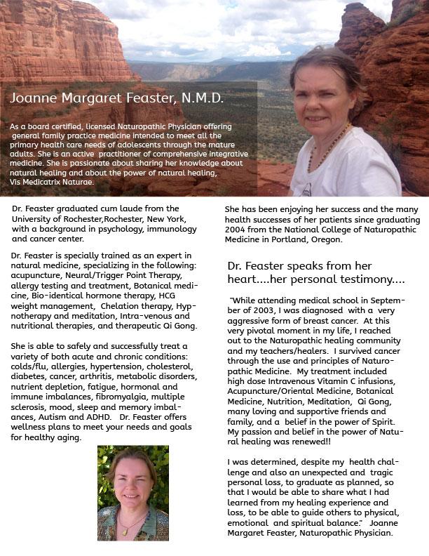 Joanne Feaster NMD